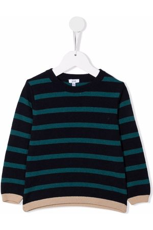 KNOT Egan striped knitted jumper