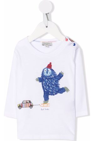 Paul Smith Cartoon-print organic-cotton T-Shirt