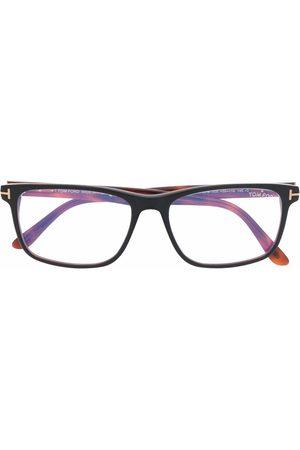 Tom Ford Tortoiseshell-effect square-frame glasses