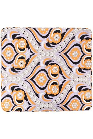 Emilio Pucci Abstract-print cotton blanket