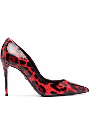 Dolce & Gabbana Leopard-print pumps