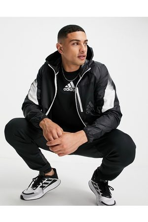 adidas Adidas Training jacket with contrast panels in
