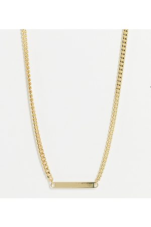 DesignB London Necklace with flat pendant in