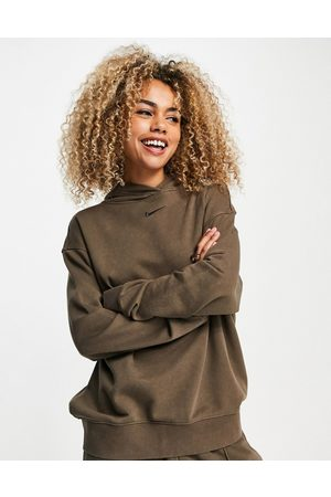 Nike Oversized fleece hoodie in ombre