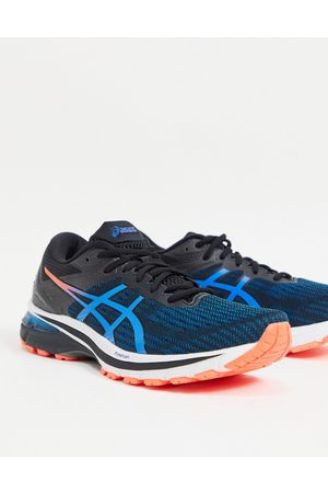 Asics Running GT-2000 9 trainers in blue and