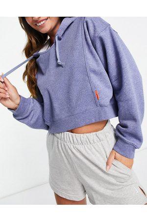 Nike One Dri-Fit fleece hoodie in marl