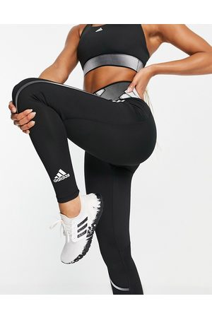 adidas Adidas Training leggings with branded waistband in