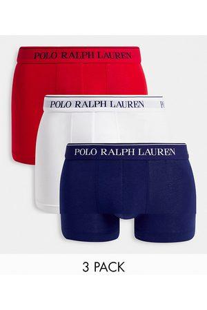 Polo Ralph Lauren Men Briefs - 3 pack trunks in multi