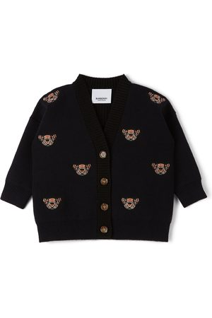 Burberry Baby Wool Bear Motif Clarisa Cardigan