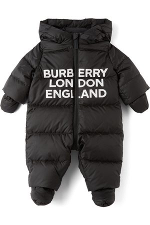 Burberry Ski Suits - Baby Down N6-River Puffer Snowsuit