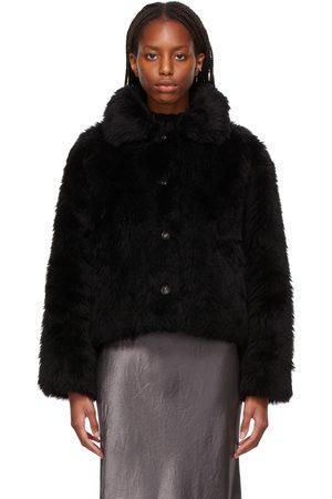 YVES SALOMON Woven Wool Short Jacket