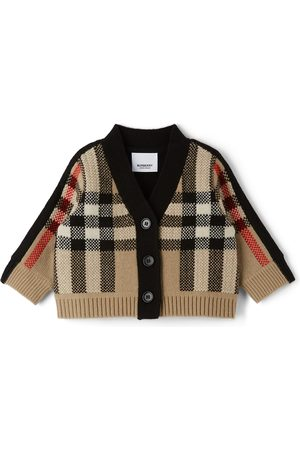 Burberry Baby Cashmere Check Dianne Cardigan
