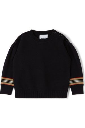 Burberry Jumpers - Baby Icon Stripe Amelia Sweater