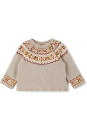 BONPOINT Jumpers - Baby Merino Wool Pull Toulouse Sweater