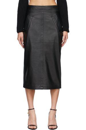 Tom Ford Women Pencil Skirts - Plongé Leather Pencil Skirt