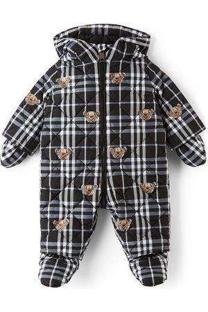 Burberry Ski Suits - Baby N6-River Bear Puffer Snowsuit