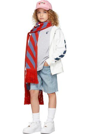 OFF-WHITE Long Sleeve - Kids Marker Long Sleeve T-Shirt