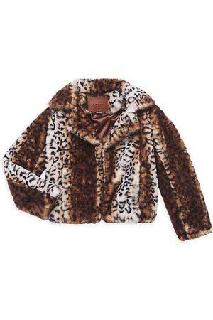 BLANK NYC Girl's Thundercat Faux Fur Jacket