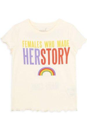 Peek & Beau Girls Short Sleeve - Little Girl's & Girl's Her Story Cotton T-shirt
