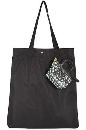 Anya Hindmarch Women Handbags - I Am A Plastic Bag Nylon & Canvas Charm Shopper