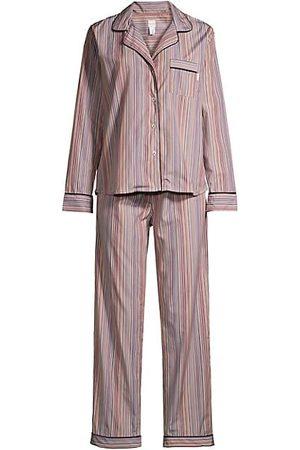 Paul Smith Women Bathrobes - Striped 2-Piece Pajama Set