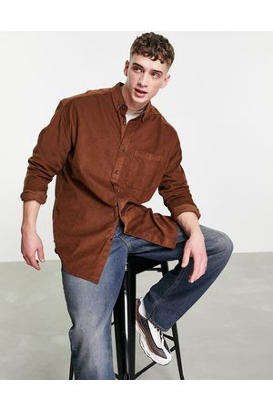 ASOS Oversized cord shirt in