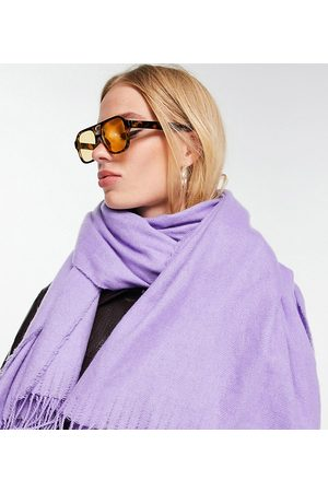 Reclaimed Women Scarves - Inspired recycled blanket scarf in