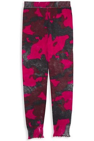 MINNIE ROSE Girl's Camo Jogger Pants