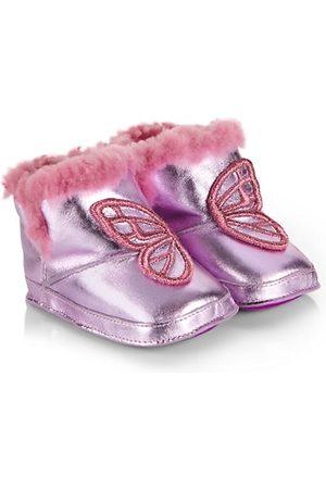SOPHIA WEBSTER Baby Girl's Butterfly Metallic Snow Boots