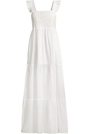 Onda De Mar Swim Women Beach Dresses - Guadalupe Tierd Coverup Dress