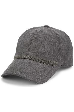 Brunello Cucinelli Hats - Crystal-Embellished Baseball Cap
