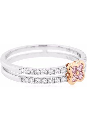 HYT Jewelry 18kt gold Argyle Pink diamond engagement ring