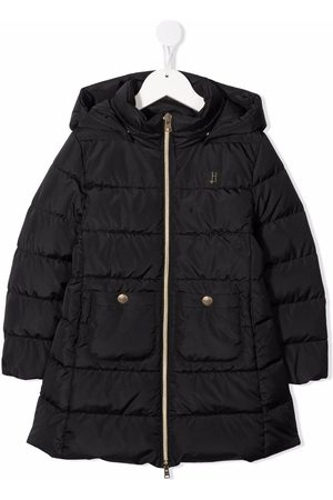 HERNO Hooded zip-up padded coat