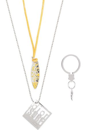 Dior 2000s pre-owned limited edition Dior Surf necklace set