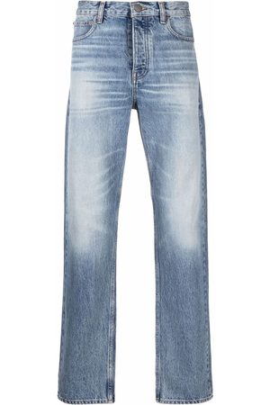 Frame Washed straight-leg jeans