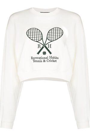 Recreational Habits Williams cropped sweatshirt