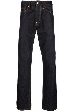 Evisu Logo-print carrot-fit jeans