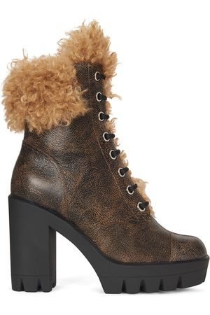 Giuseppe Zanotti Tonix Winter shearling-trim boots