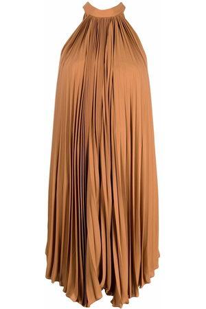 Styland Halterneck pleated dress