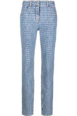 Givenchy 4G motif slim-fit trousers