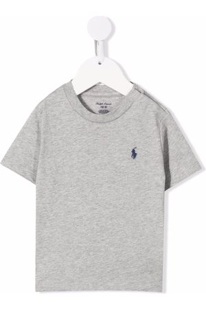 Ralph Lauren Baby Short Sleeve - Polo Pony-embroidered T-shirt