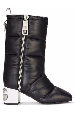 Dolce & Gabbana DG-heel padded boots