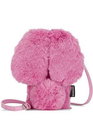 Balenciaga Fluffy Bunny iPhone 12 Case-On-Strap