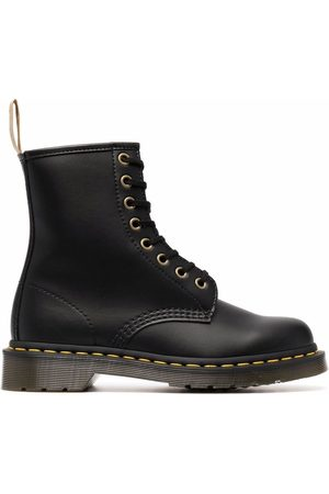 Dr. Martens Chunky faux leather lace-up boots