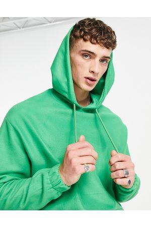 ASOS Oversized polar fleece hoodie in bright