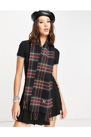 Fred Perry Tartan scarf in