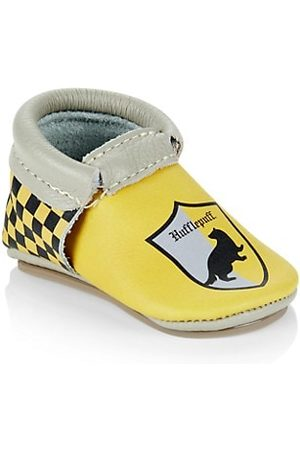 Freshly Picked X Harry Potter Baby's Hufflepuff City Leather Moccasins