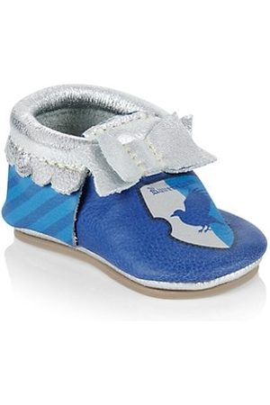 Freshly Picked Loafers - Baby's x Harry Potter Ravenclaw Knotted Bow Moccasins