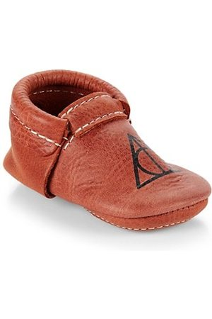 Freshly Picked Baby's x Harry Potter Deathly Hallows Moccasins