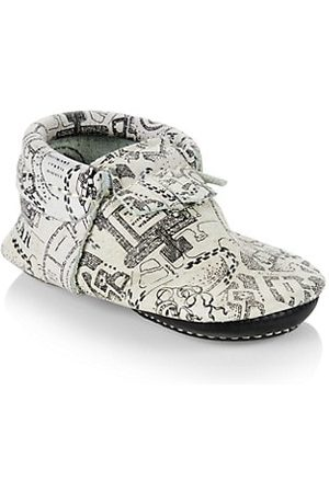 Freshly Picked Baby's x Harry Potter Marauder's Map Moccasins